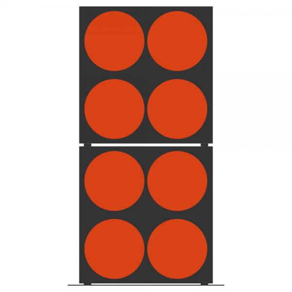 Full Stack 2x 4er Band-Box